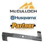 HUSQVARNA, Partner, McCulloch fűnyírókés
