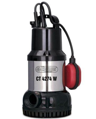 Elpumps CT-4274W búvárszivattyú tiszta vízre