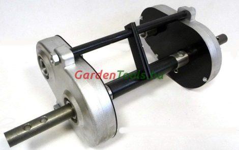 kapálógép, láncos hajtású, univerzális sebességfelező kiegészítő adapter