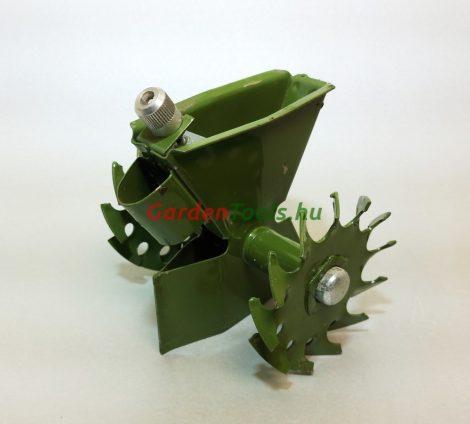 Kiskerti vetőgép, seprűnyélre szerelhető