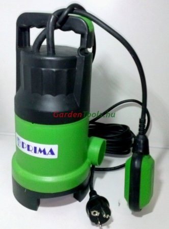 Prima ZSPW 550 búvászivattyú szennyezett vízre