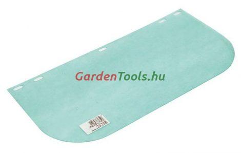 Tartalék arcvédő, plexiálarc védőeszköz láncfűrészhez, fűkaszához