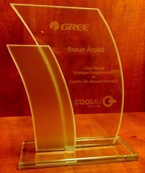 2016 a Gree klíma forgalmazójának kiemelt partnere